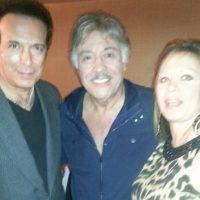 With Tony Orlando and Sherri