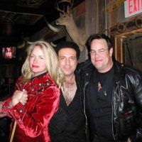 With Donna Dixon and Dan Aykroyd