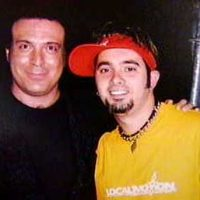 With Chris Kirkpatrick from 'N Sync
