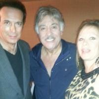 With Tony Orlando and Sherri