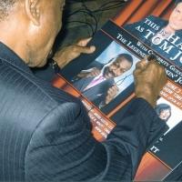 Joe Frazier Signing Autographs